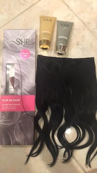 Brand new Halo Extensions with shampoo and conditioner  Bakersfield, 93313