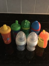 Never used milk bottles n sippy cups.All for $10 Ashburn, 20148