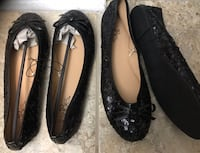 New size 5/6 and size 7/8 black sequence flat shoes Toronto, M2J