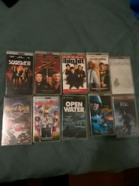 Assorted PSP New movies and game