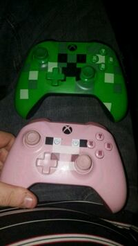 Two xbox one Minecraft controllers Greenville, 29611