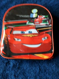 Red cars backpack  London