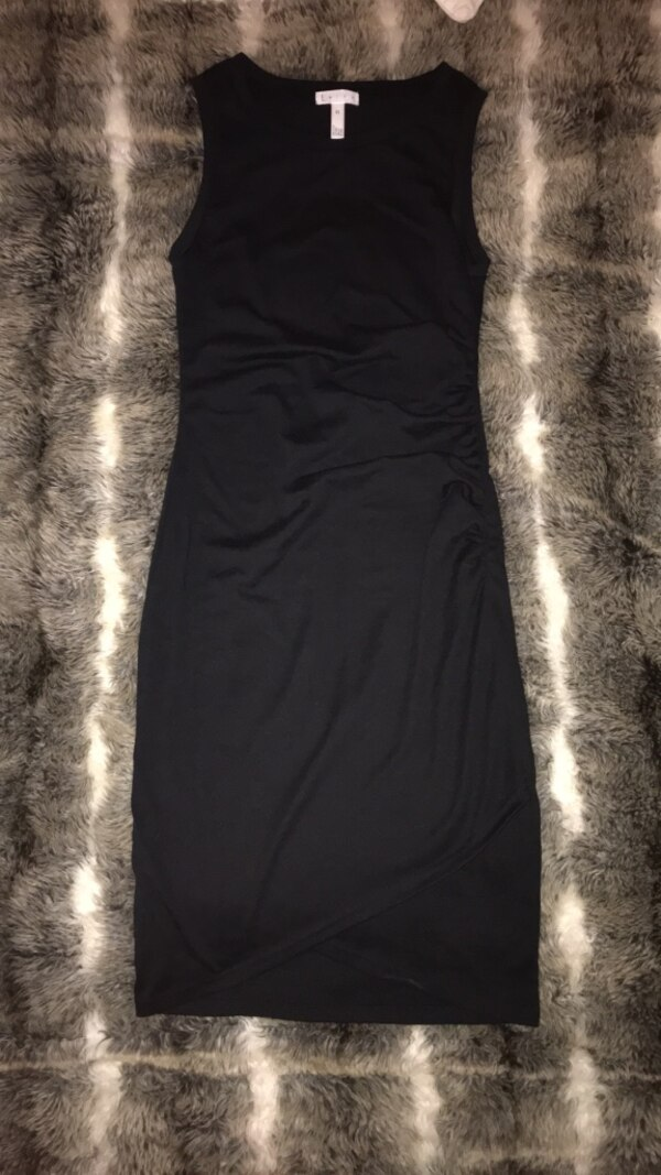 xs tight black dress from nordstrom