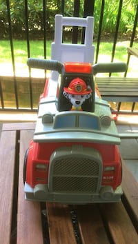 Paw patrol ride on/push fire truck  Coquitlam, V3K 3V2
