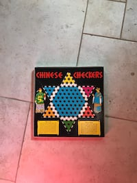 CHINESE checkers board + marbles Richmond Hill, L4C 4V4