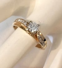 14k yellow gold diamond engagement ring *Compare at $2,400 Vaughan, L4J 8L7