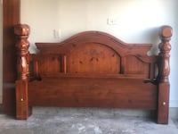 King/Queen bed frame for sale