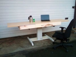 Mayline* Electric Sit-Stand Desk/Workbench.