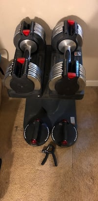 Adjustable dumbbell set W/ perfect push-up and grip trainer  Manteca, 95336