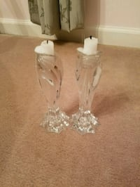 Exquisite Crystal Candle Holders