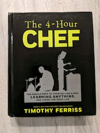 4 Hour Chef Hardcover by Tim Ferriss Burnaby, V3J
