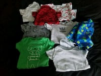baby's assorted-color onesie lot Christiansburg, 24073