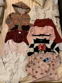 12-18 month girl's clothing set