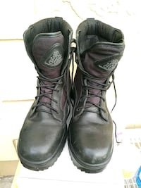 Mens ROCKY STEEL TOE WORKING BOOTS SIZE10 1/2 WIDE Tampa, 33624