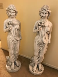 "Large 50"" tall stunning resin garden statues new check out my other items on this page message me if you interested gaithersburg md 20877 Gaithersburg, 20877"