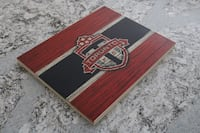 red and black wooden chest box Brampton, L6R 2P7