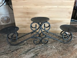 Candle holder Stand, holds 3 candles