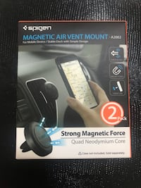 Double pack magnetic air vent mount Brampton, L6V 5W2