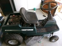 black and green Craftsman ride-on mower Cape Coral, 33990