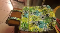 green, white, and red floral tote bag San Antonio, 78201
