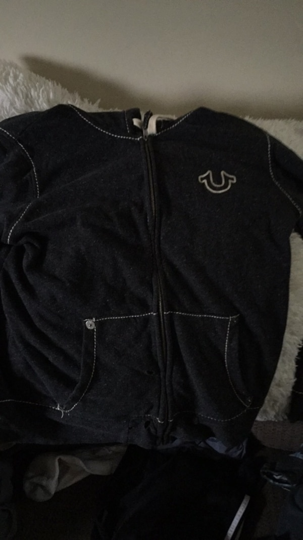 Tru religion zipper up