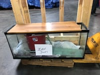 55 Gallon Fish Tank with Custom Stand
