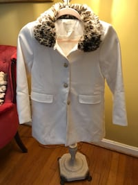 white button-up jacket Hoover, 35226