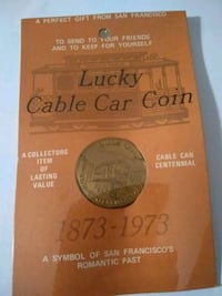 1873-1973 Lucky Cable Car Coin Spencer, 73084