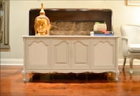 **Reduced**Vintage Radio Cabinet Converted To Bar/ Sideboard Toronto