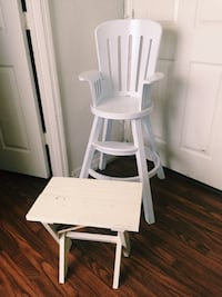 white wooden windsor rocking chair Kissimmee, 34741