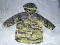 green and black camouflage zip-up hoodie Rockville, 20853