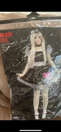 Adult Broken Doll Costume Clearwater, 33761