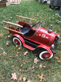 Fire Engine Peddle Car