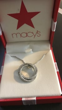 New 18' real diamond necklace Oakland, 94605