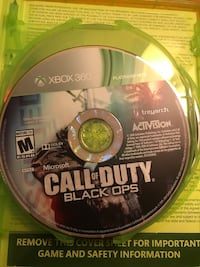 Call of duty black ops 1,2, and 3 xbox 360 game case Winston, 97496