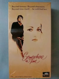 Somewhere in Time vhs