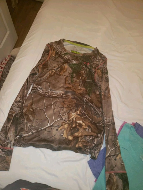 Camouflage womens long sleeve   0