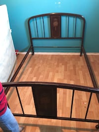 Double bed frame  Calgary, T3J 1R4