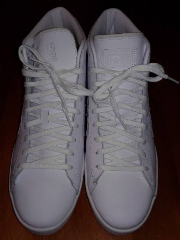 e654185d860 Used Size 12 Leather Converse Basketball Shoes for sale in Wadsworth - letgo