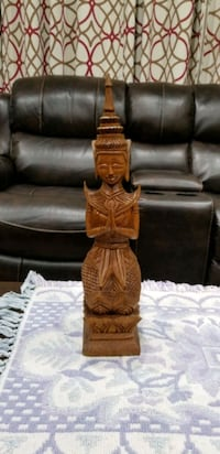 Wood carved Thai statue Baltimore, 21214