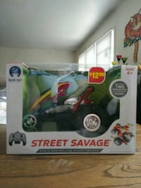 RC car - Street Savage -Red Point of Rocks, 21777