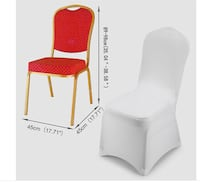 Chair cover rentals  white spandex for all events Calgary