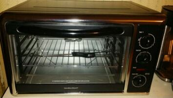 Hamilton Beach Countertop Oven Black