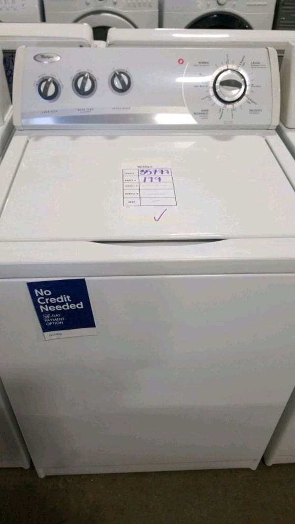 Whirlpool top load washer 27inches.  e11487c3-151d-4fcb-ad83-04686f740d6f