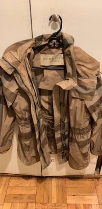 brown and black camouflage zip-up jacket New York, 10021