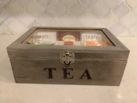 Personalized Hand Crafted Tea Boxes Burlington, L7P 3H1