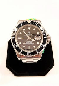 Rolex Submariner Date 16800 Vintage Stainless Steel 40mm Men's Automatic Watch Fort Myers, 33908