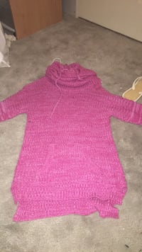 Toddler's pink knitted sweater Whitby, L1M 1G3