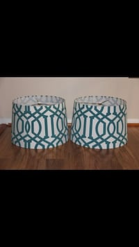 white-and-green lampshades Woodbridge, 22192