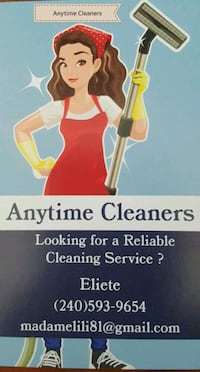Anytime Cleaners Silver Spring, 20906
